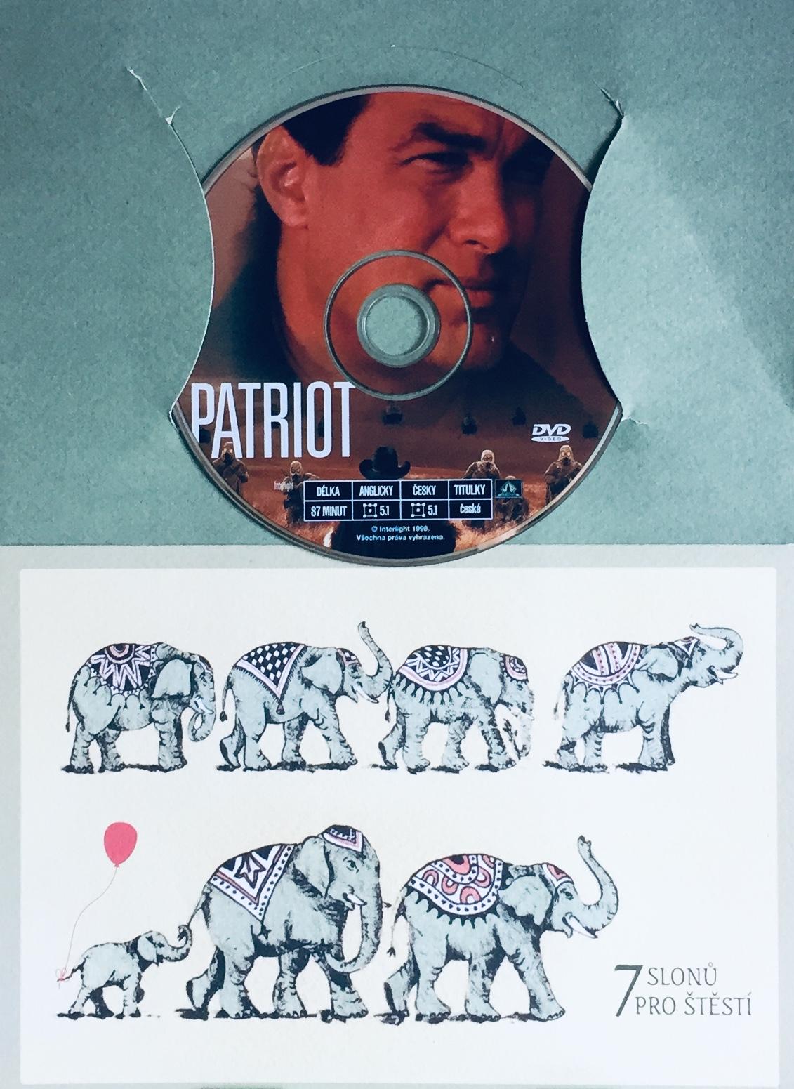 Patriot - S. Seagal - DVD /dárkový obal/