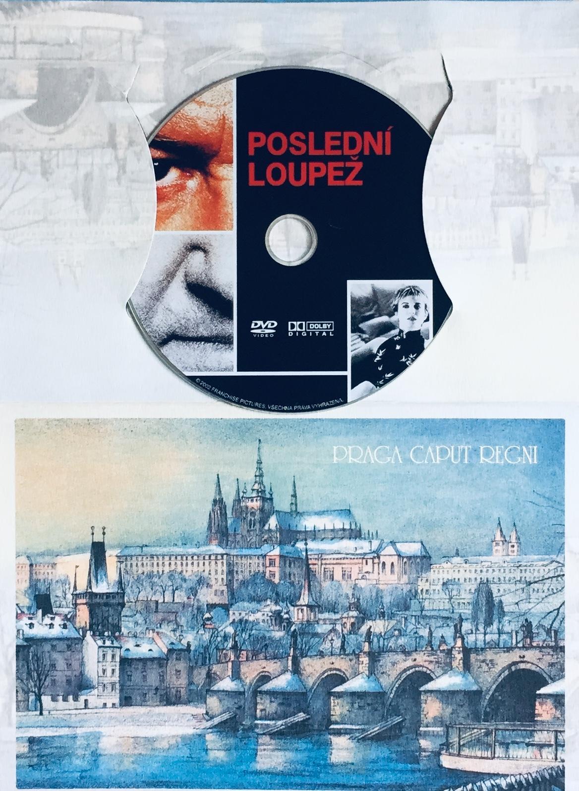 Poslední loupež - DVD /dárkový obal/
