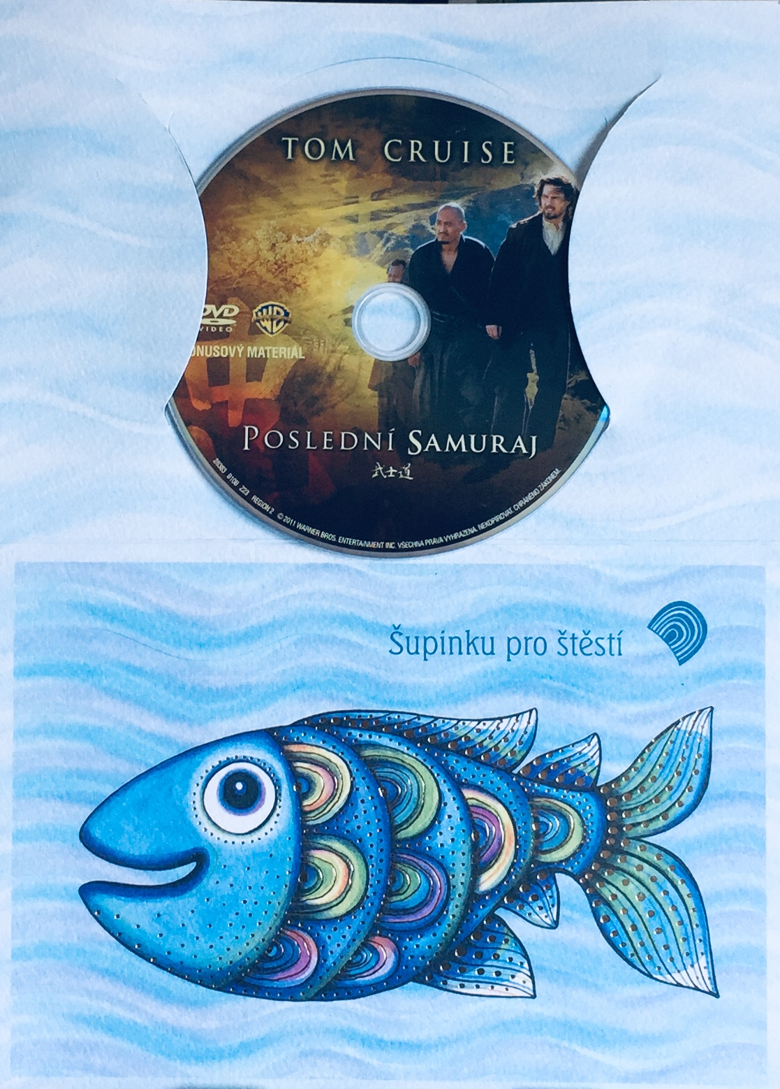 Poslední Samuraj - DVD /dárkový obal/
