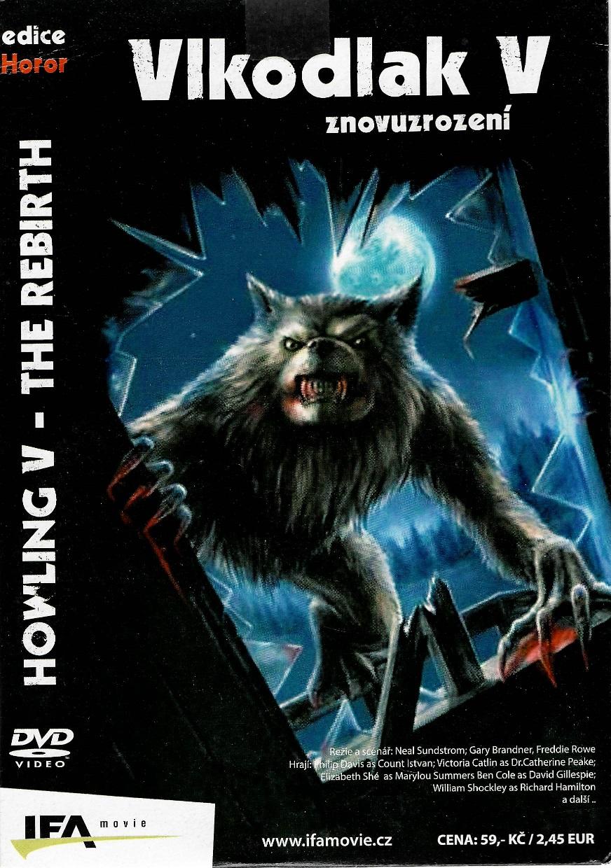 Vlkodlak 5 - Znovuzrození - DVD pošetka