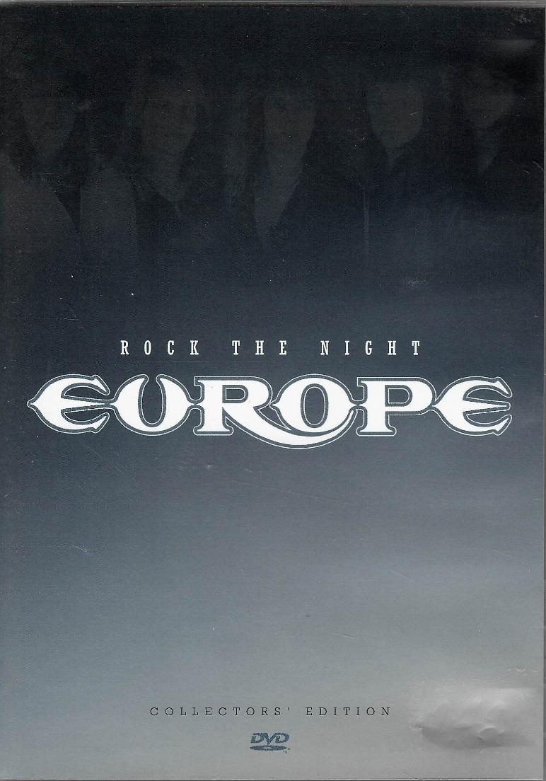 Europe - Rock The Night - DVD plast