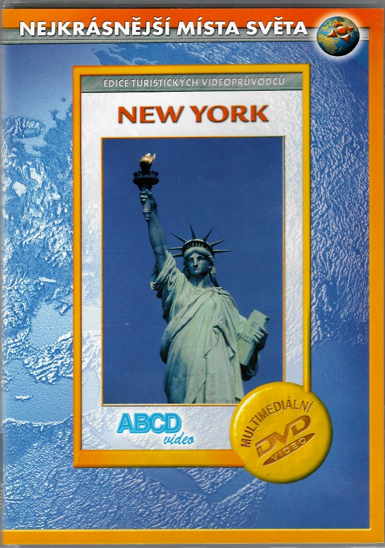 New York - Nejkrásnější místa světa - DVD plast