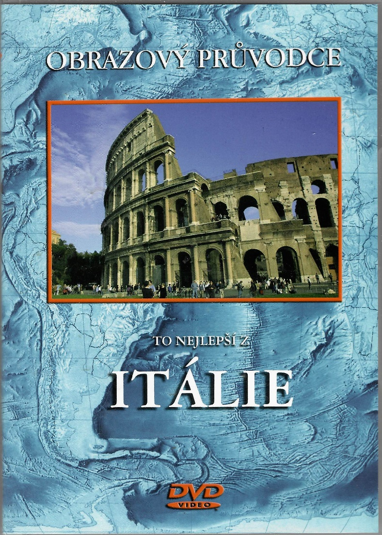 Itálie - Obrazový průvodce - DVD plast