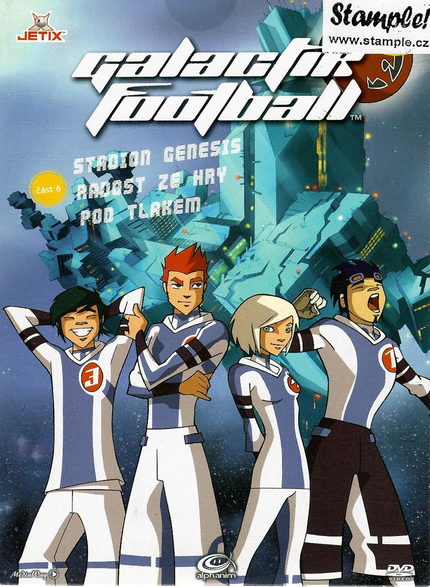 Galactik Football 6 - DVD pošetka