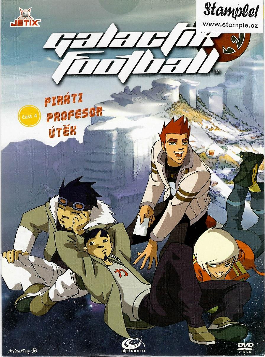 Galactik Football 4 - DVD pošetka