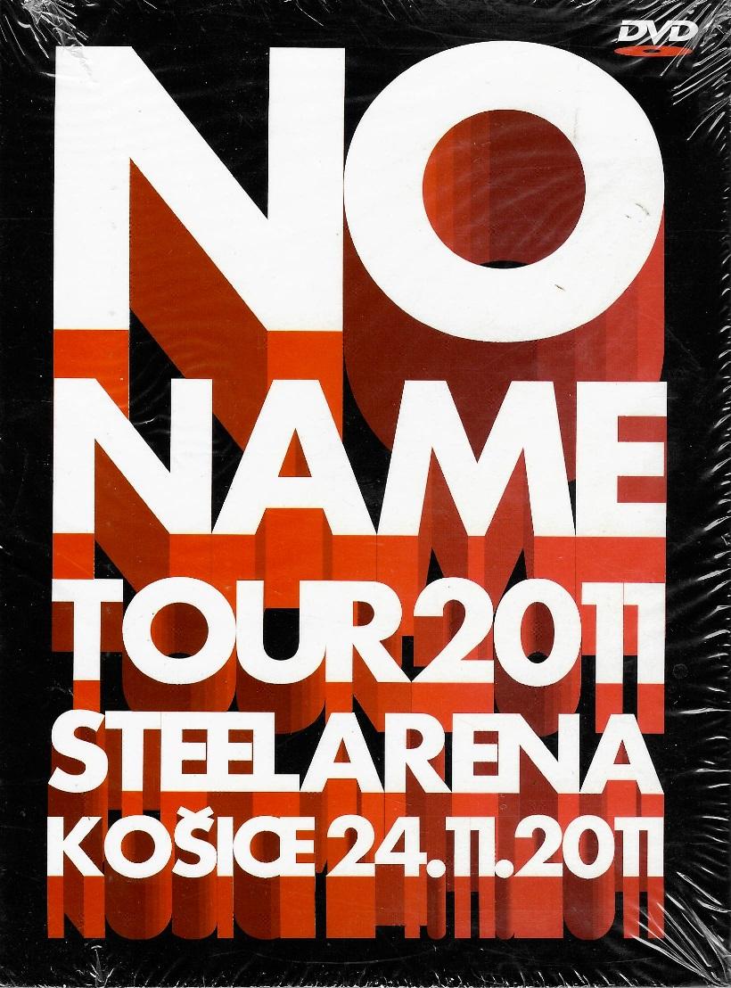 No Name Tour 2011 - Steel Arena Košice 24.11.2011 - DVD digipack