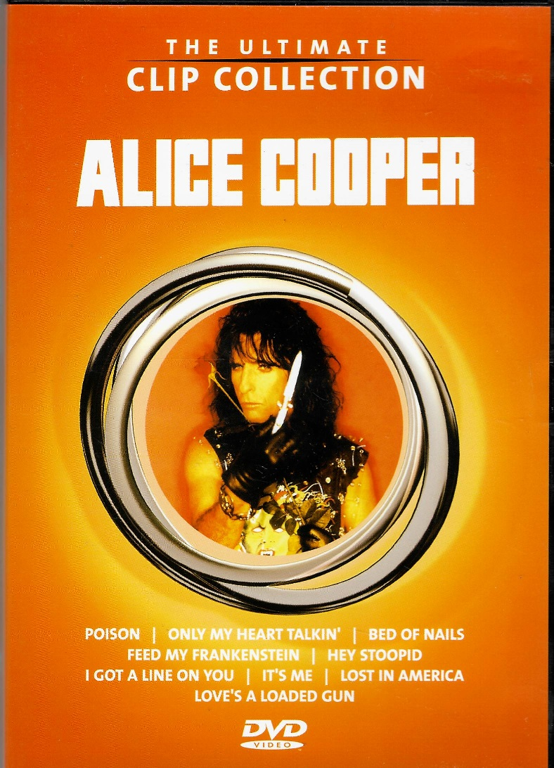 Alice Cooper - The ultimate clip collection - DVD plast