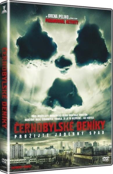 Černobylské deníky  - DVD plast