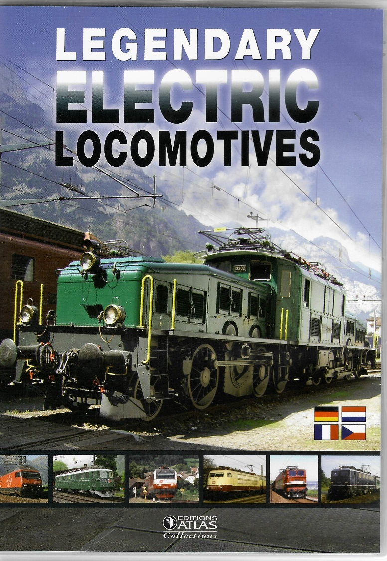 Legendary Electric Locomotives - DVD slim