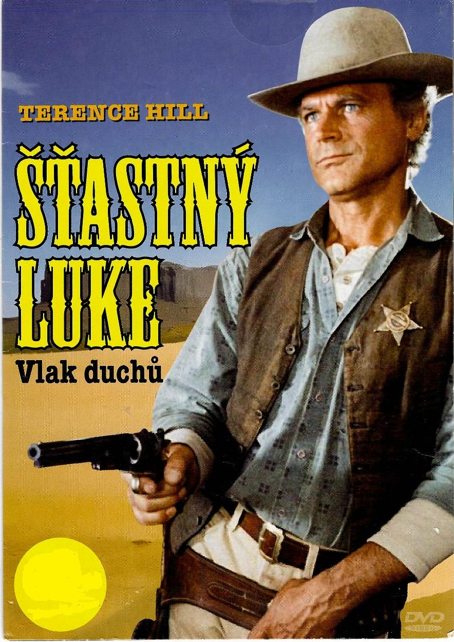Šťastný Luke - Vlak duchů - DVD pošetka