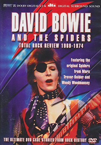 David Bowie and The Spiders - Total rock review 1969-1974 - DVD plast