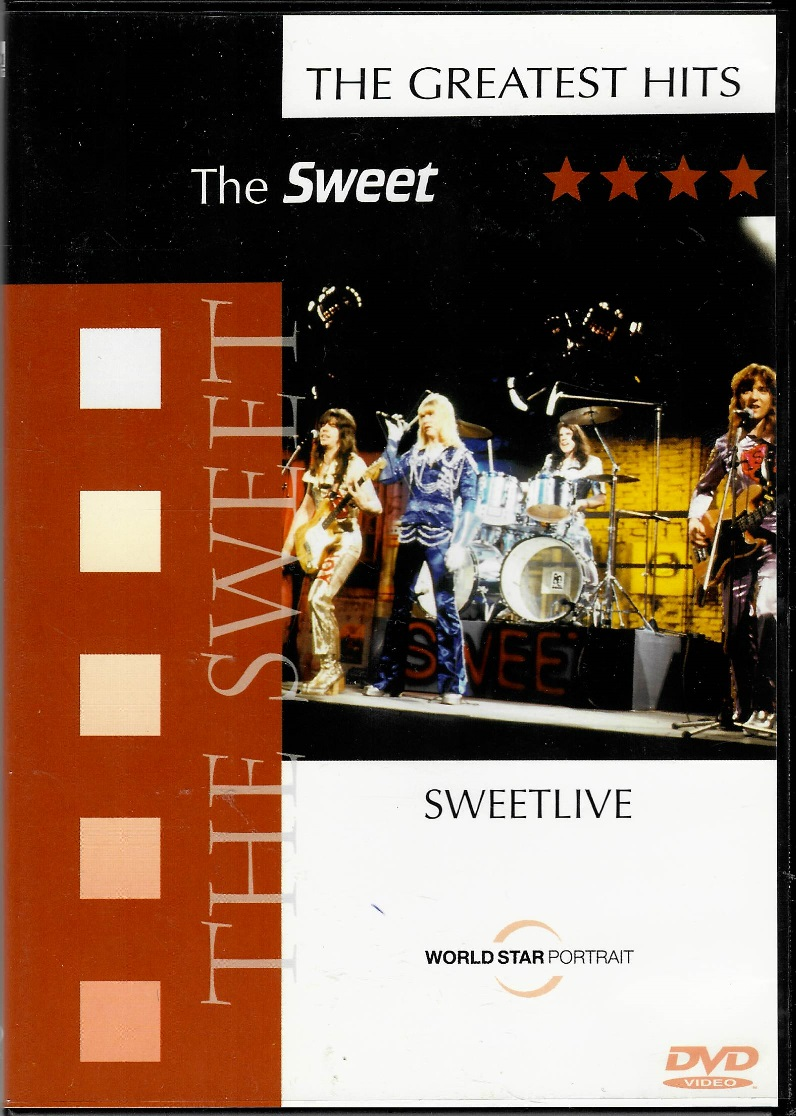 Teh Sweet - The Greatest Hits - DVD plast