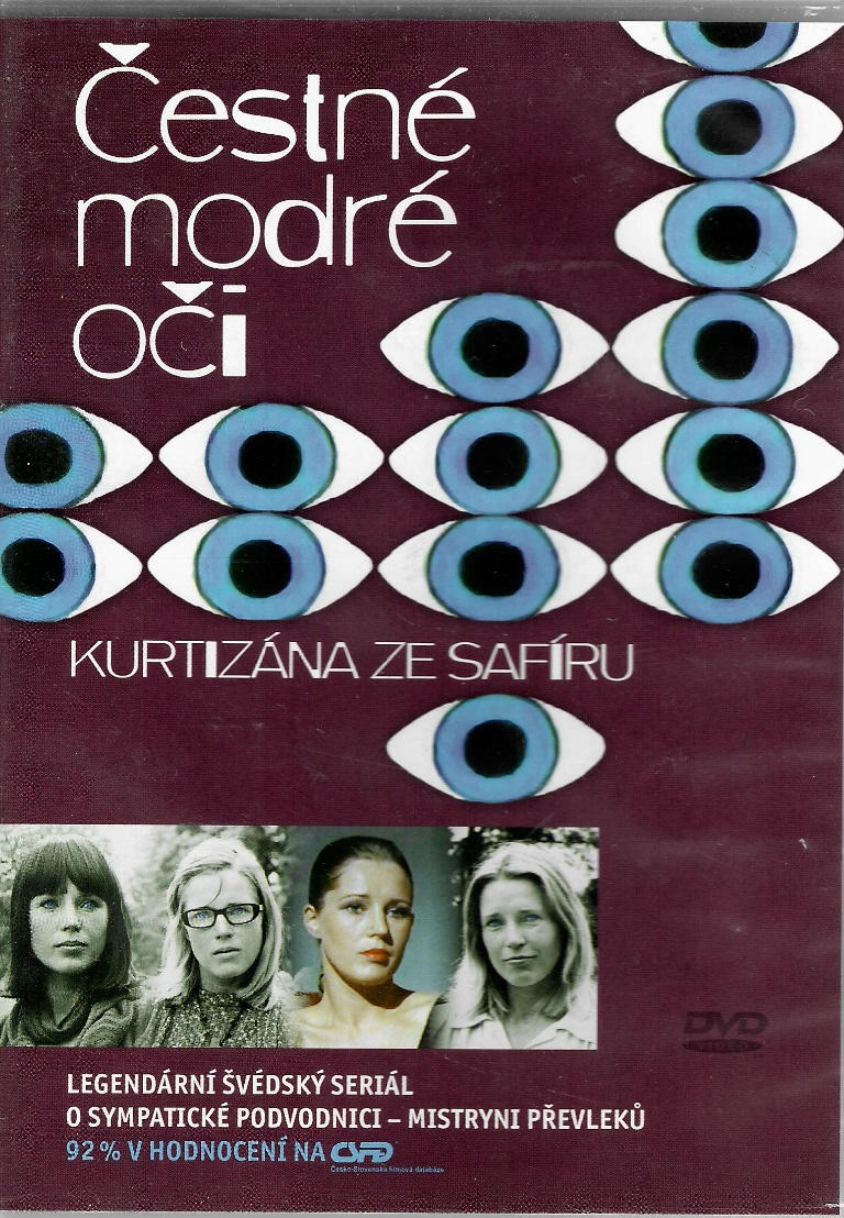 Čestné modré oči 4 - Kurtizána ze safíru - DVD plast