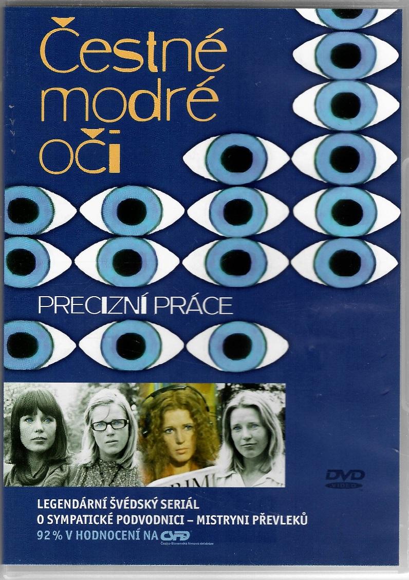 Čestné modré oči 5 -Precizní práce - DVD plast