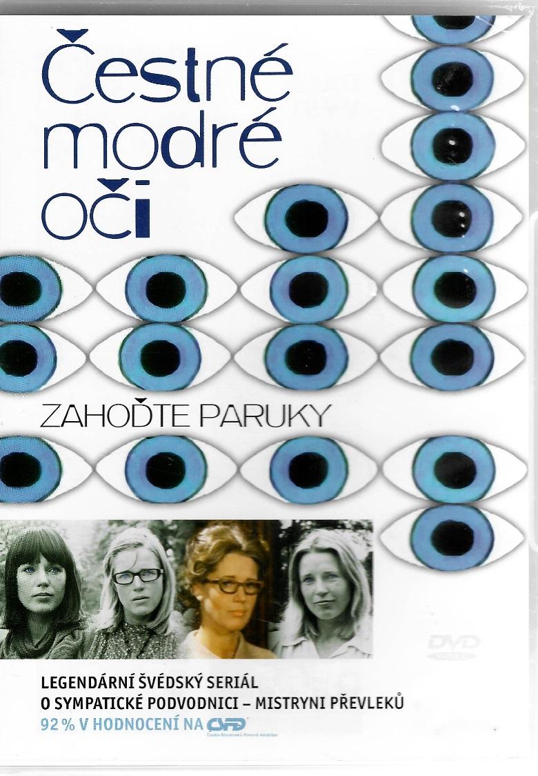 Čestné modré oči 6 - Zahoďte paruky - DVD plast