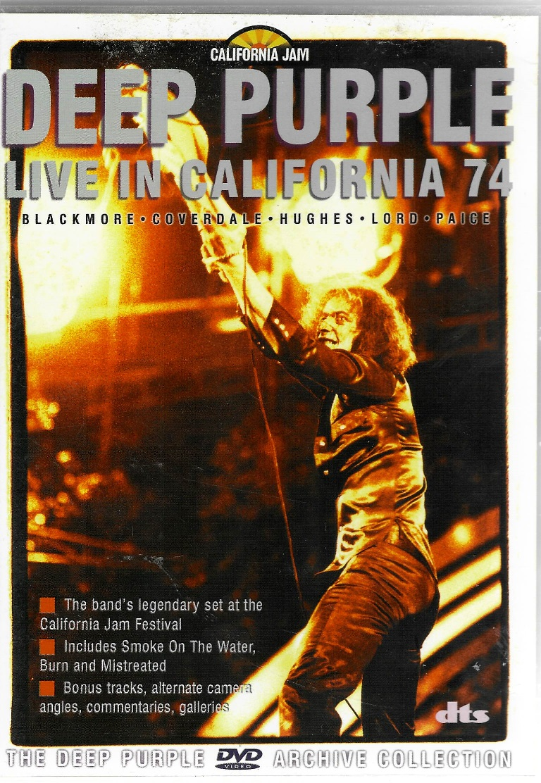 Deep Purple - Live in California 74 - DVD plast