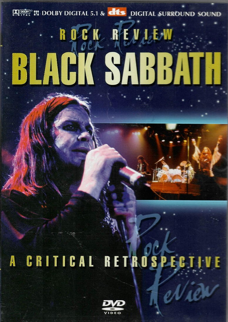 Black Sabbath - Rock Review - DVD plast