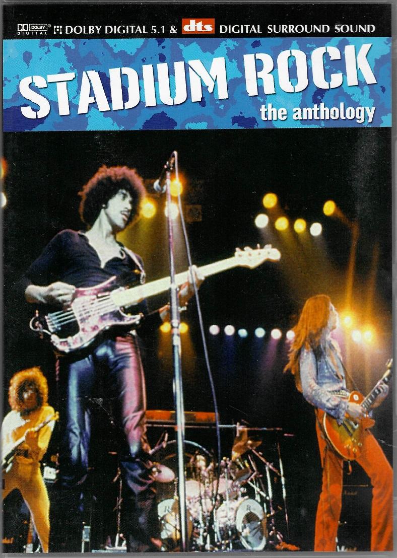 Stadium Rock - The anthology - DVD plast