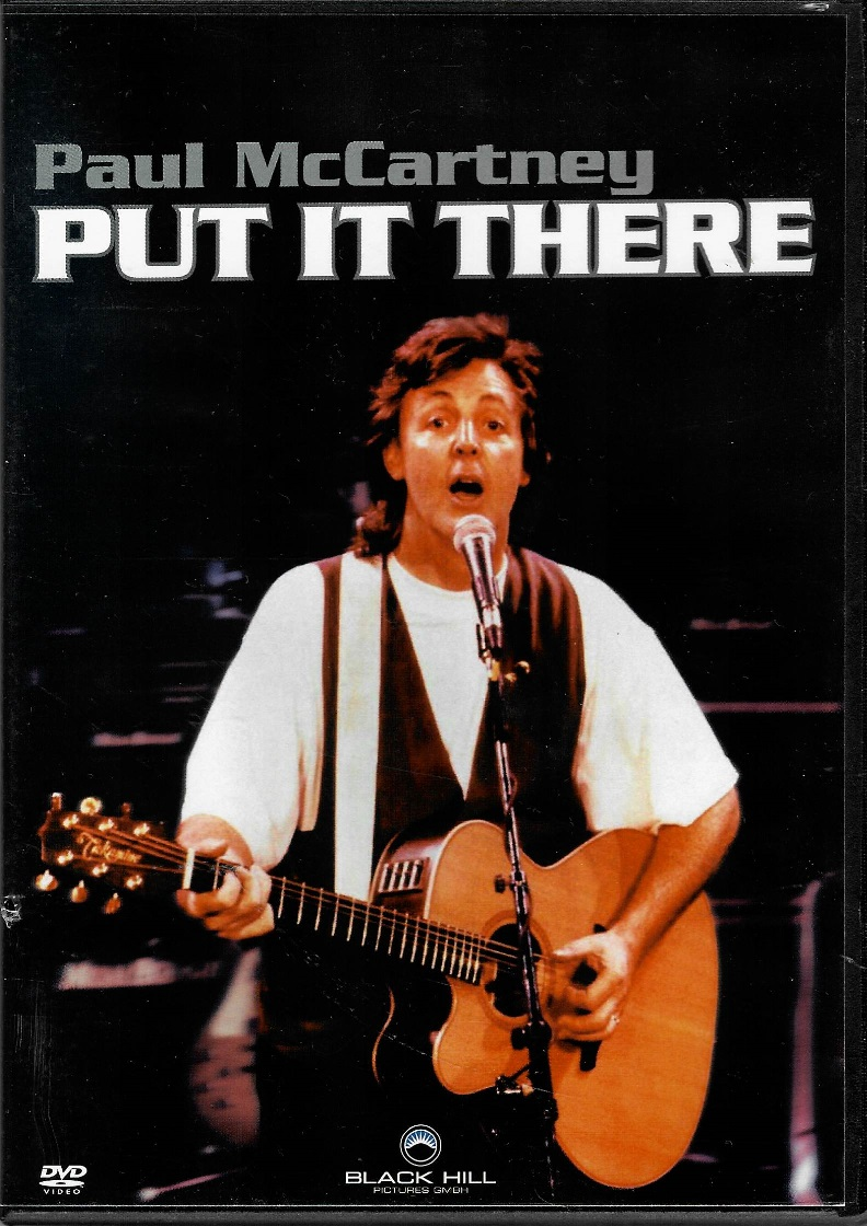 PUT IT THERE - Paul McCartney - DVD plast