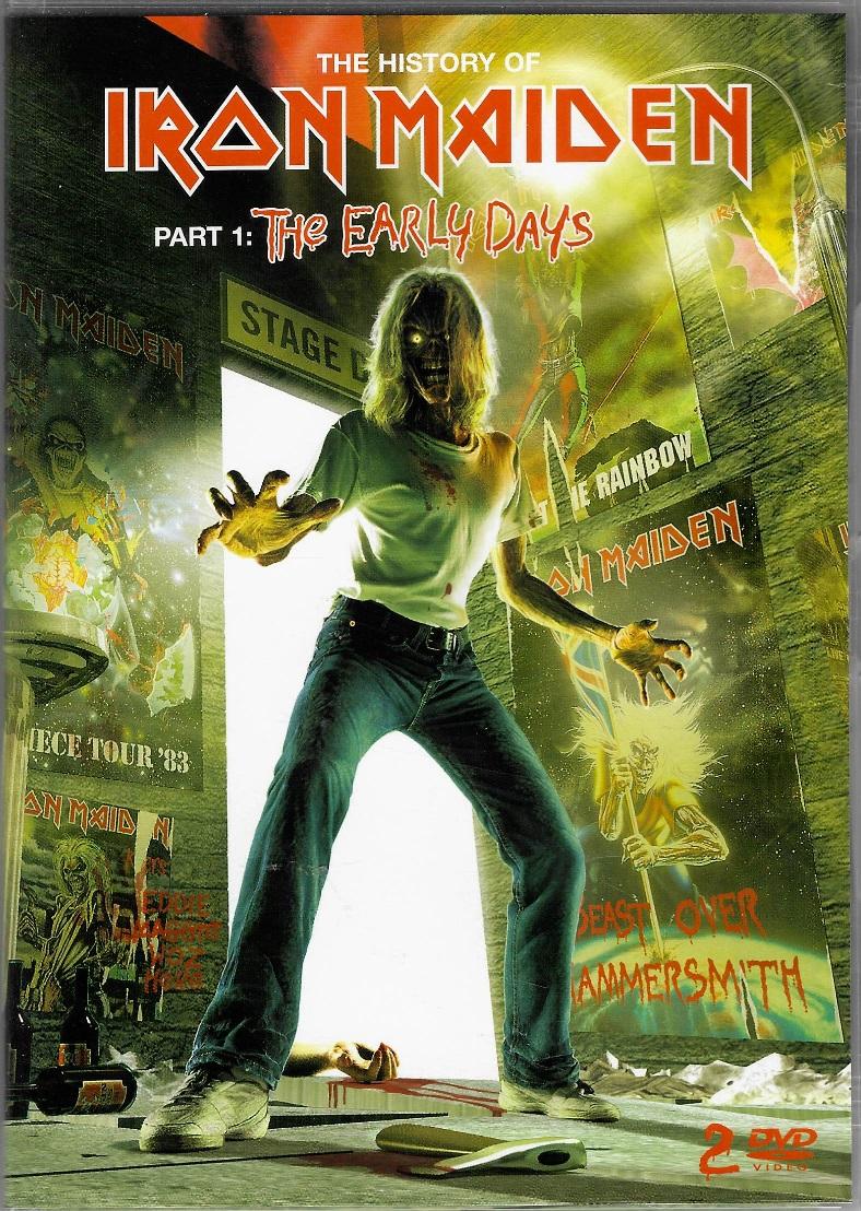 Iron Maiden - The Early Days - Part 1 - 2 DVD plast