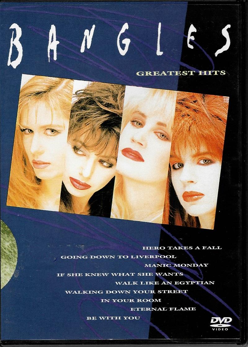 Bangles - Createst hits - DVD plast