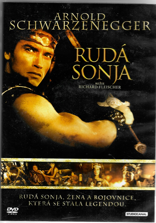 Rudá Sonja - DVD plast