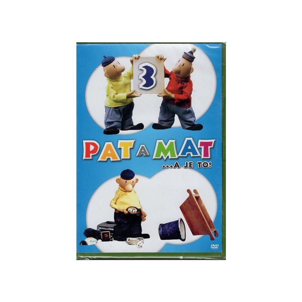 Pat a Mat 3 - DVD plast