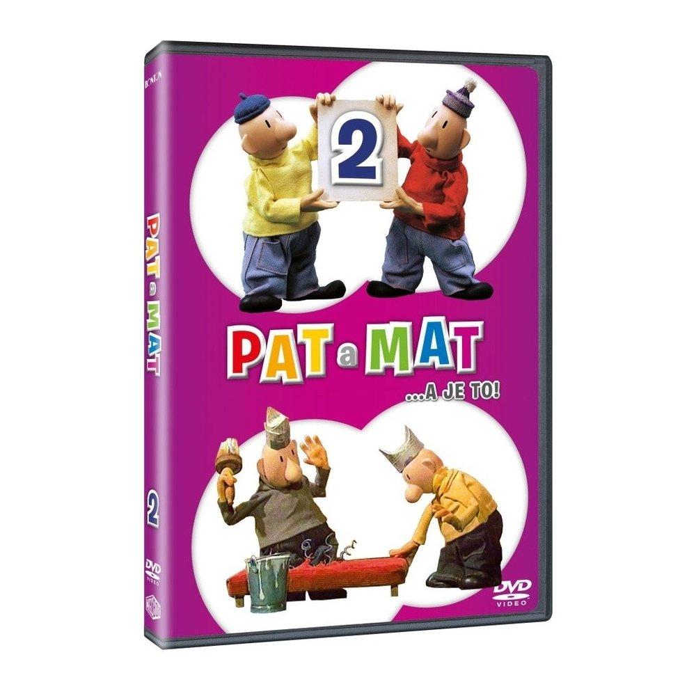 Pat a Mat 2 - DVD plast