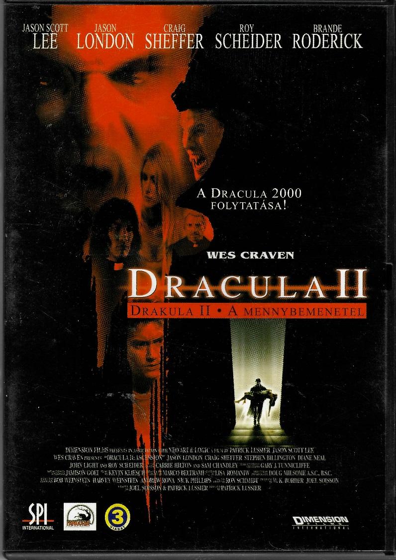Dracula II - DVD plast