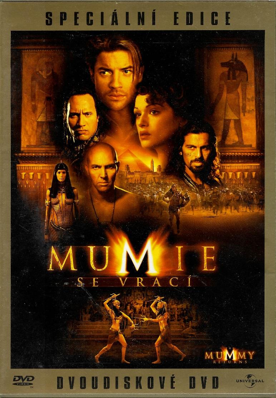 Mumie se vrací - 2 DVD plast