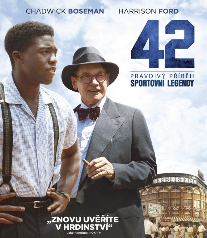 42 - Pravdivý příběh sportovní legendy - DVD /plast/