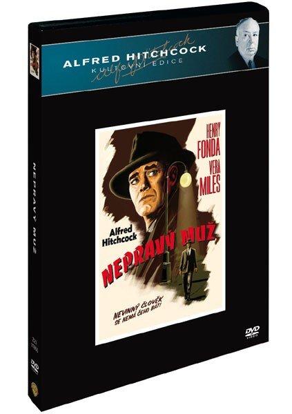 Nepravý muž - Alfred Hitchcock kultovní edice - DVD /plast v šubru/