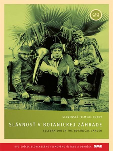 Slávnosť v botanickej záhrade - DVD /slim/