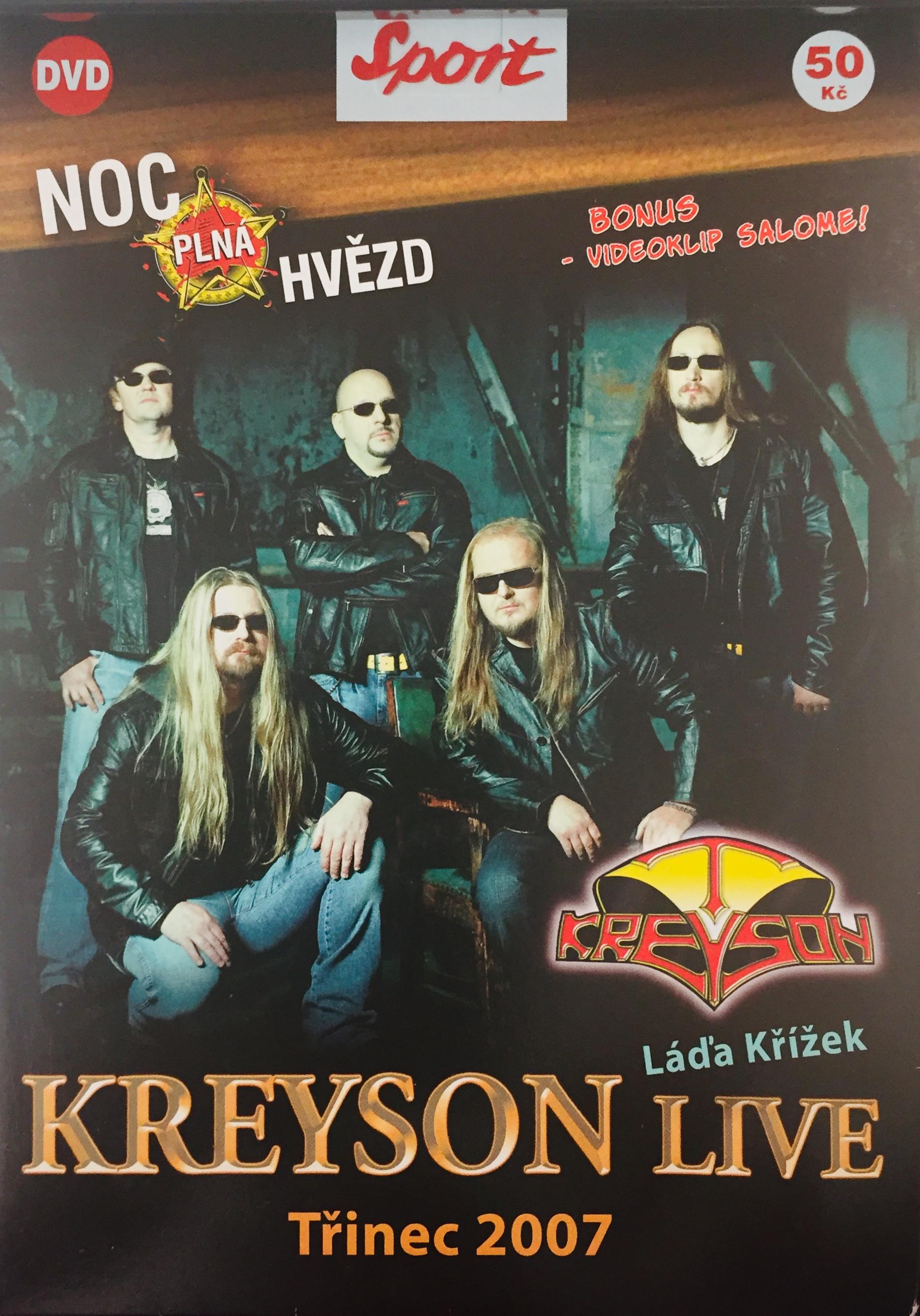Kreyson Live - Třinec 2007 - DVD /pošetka/