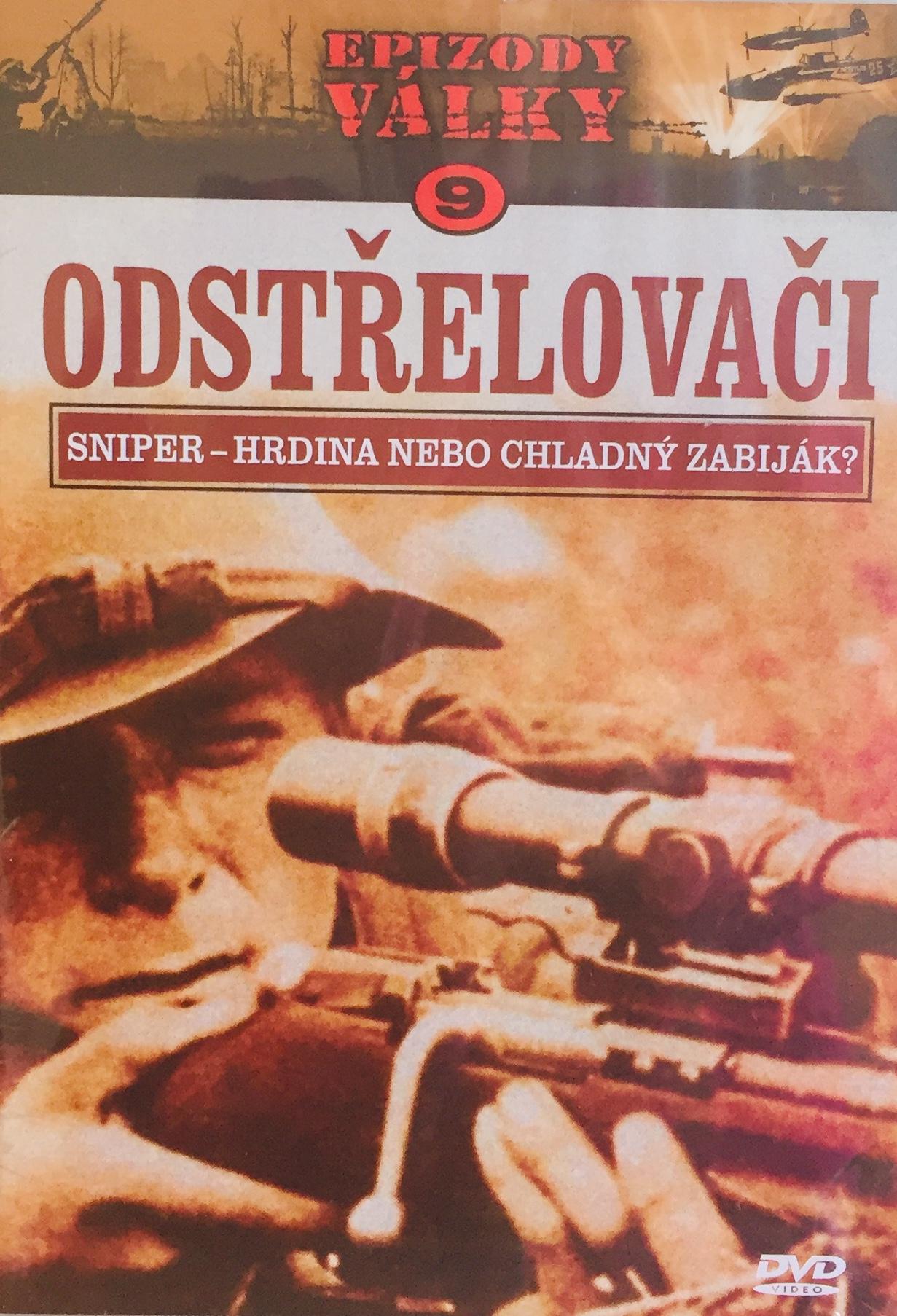 Epizody války 9 - Odstřelovači - DVD /plast/