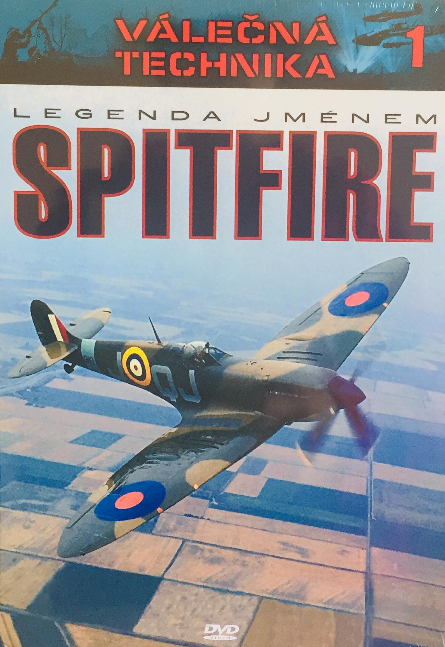 Válečná technika 1 -  Legenda jménem Spitfire - DVD /digipack/