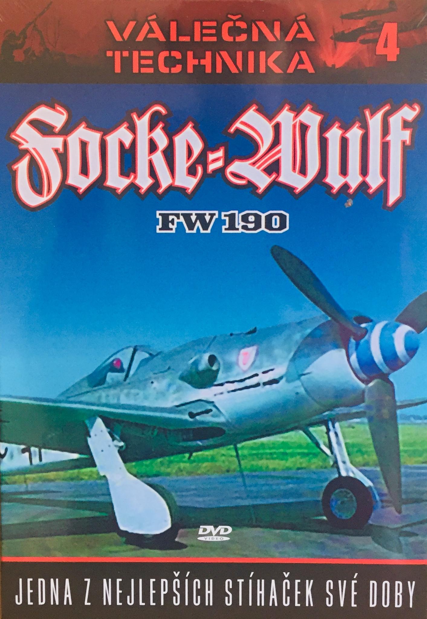 Válečná technika 4 - Focke-Wulf FW 190 - DVD /digipack/