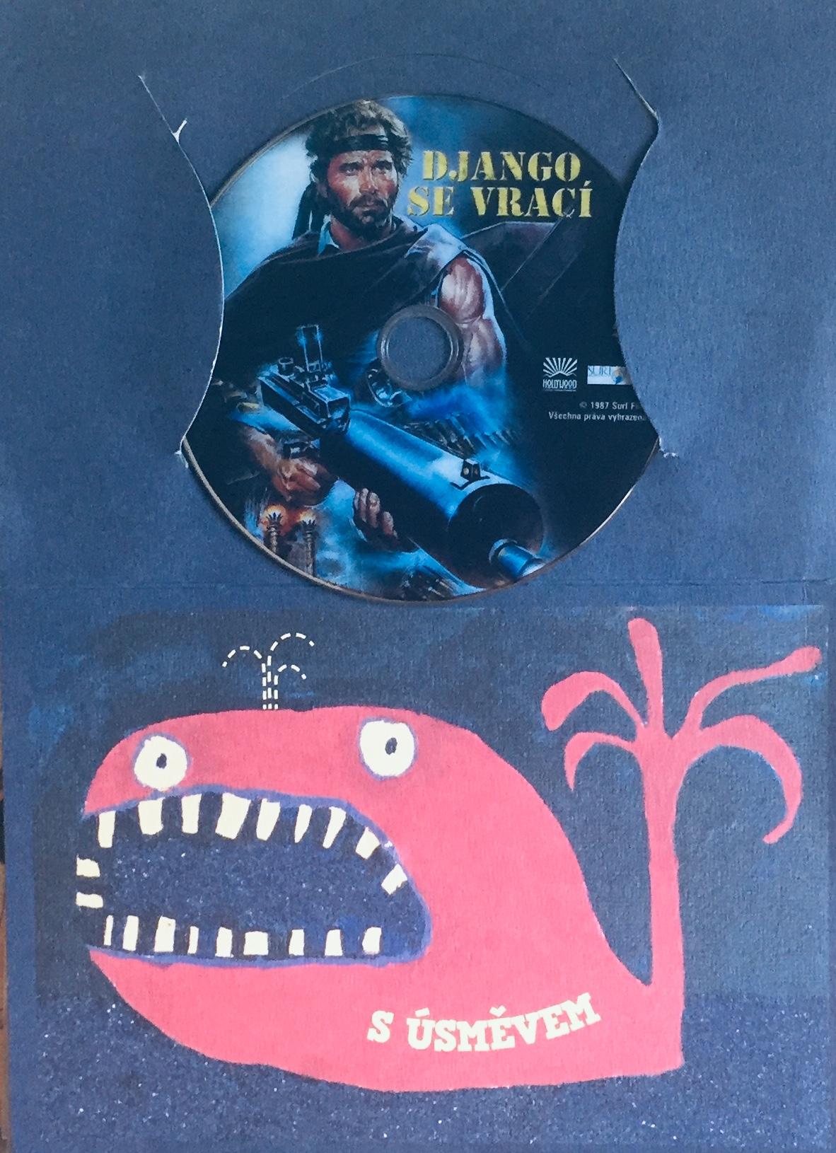 Django se vrací - DVD /dárkový obal/