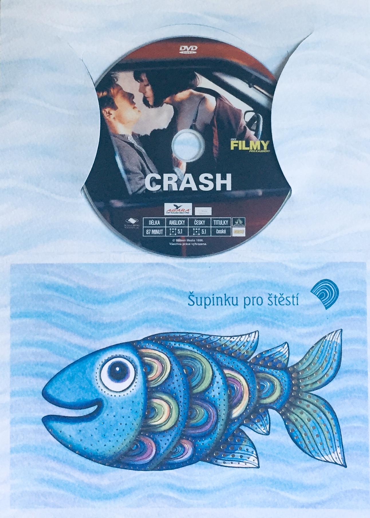 Crash - DVD /dárkový obal/