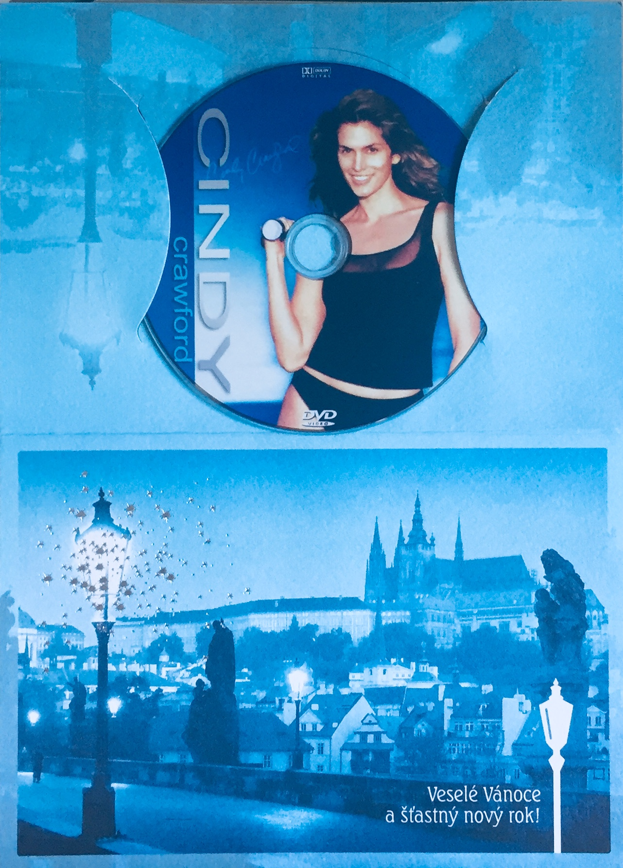 Cindy Crawford - Fitness pro každého - DVD /dárkový obal/