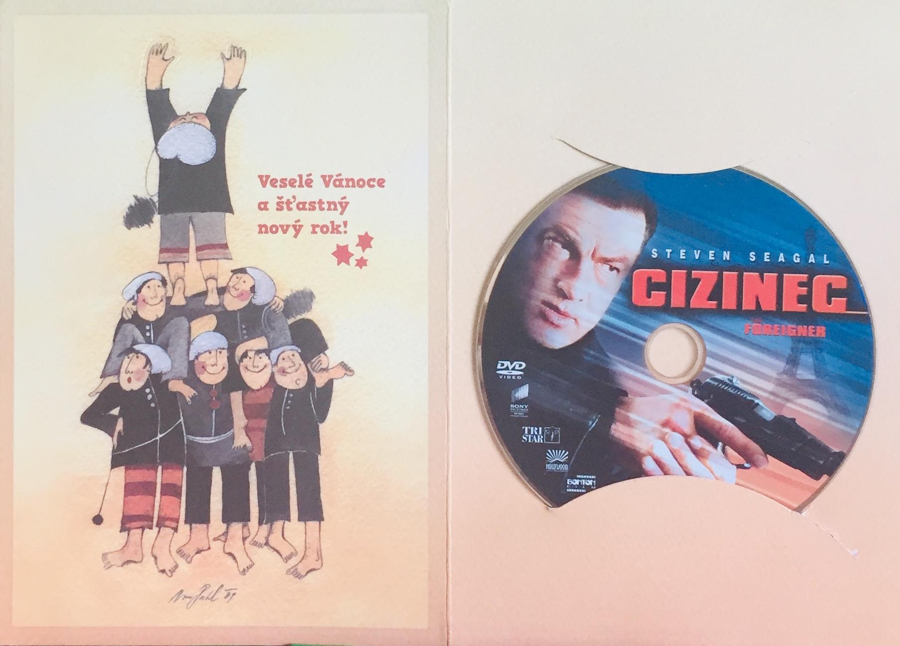 Cizinec - DVD /dárkový obal/
