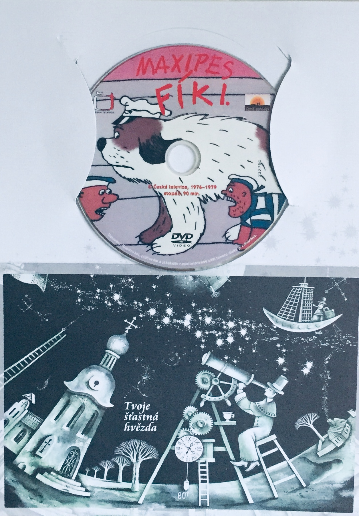 Maxipes Fík I. - DVD /dárkový obal/