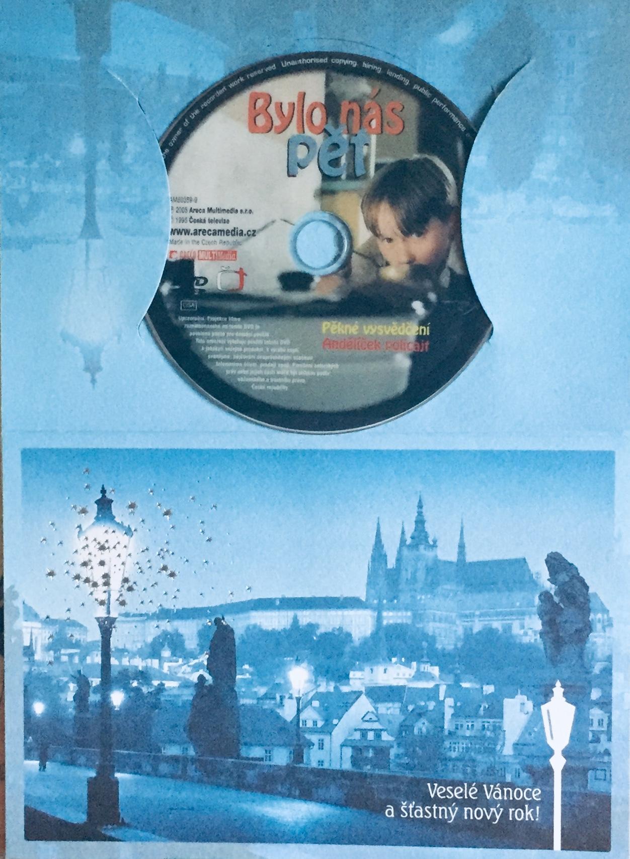Bylo nás pět - DVD /dárkový obal/