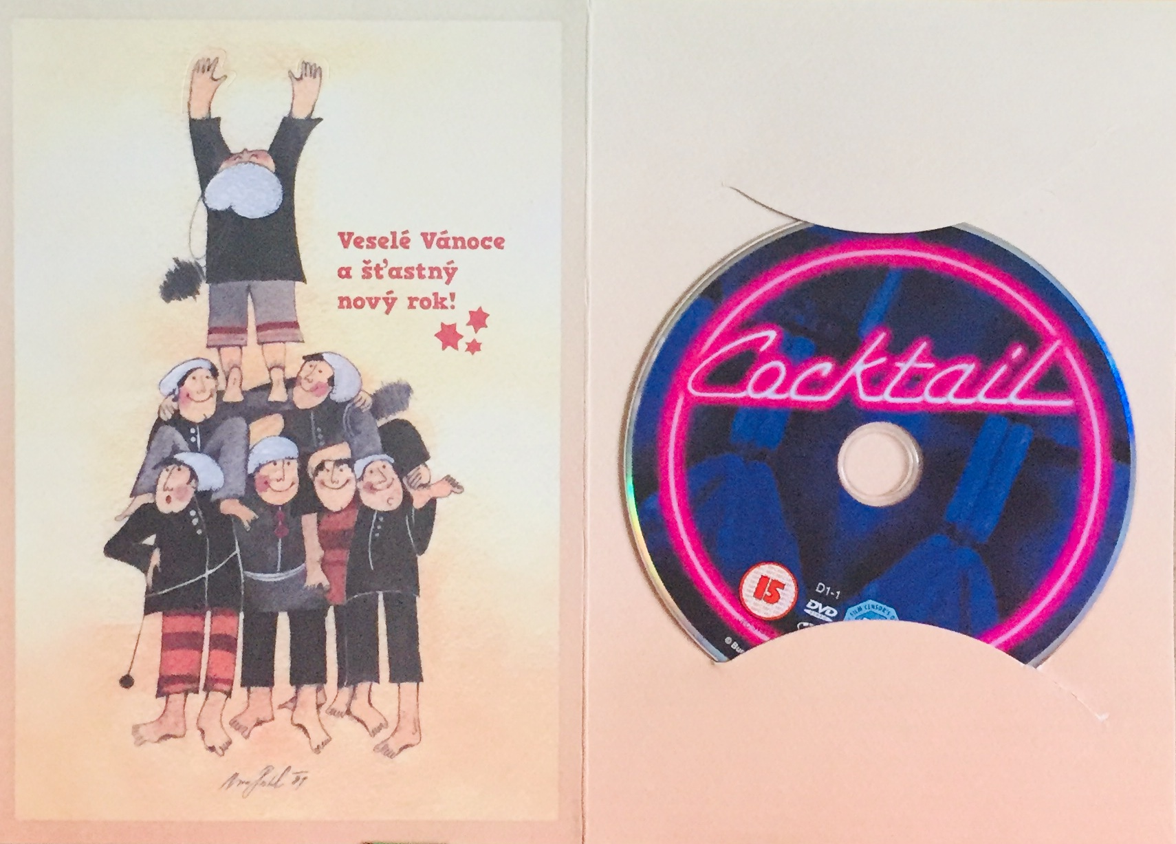 Cocktail - DVD /dárkový obal/