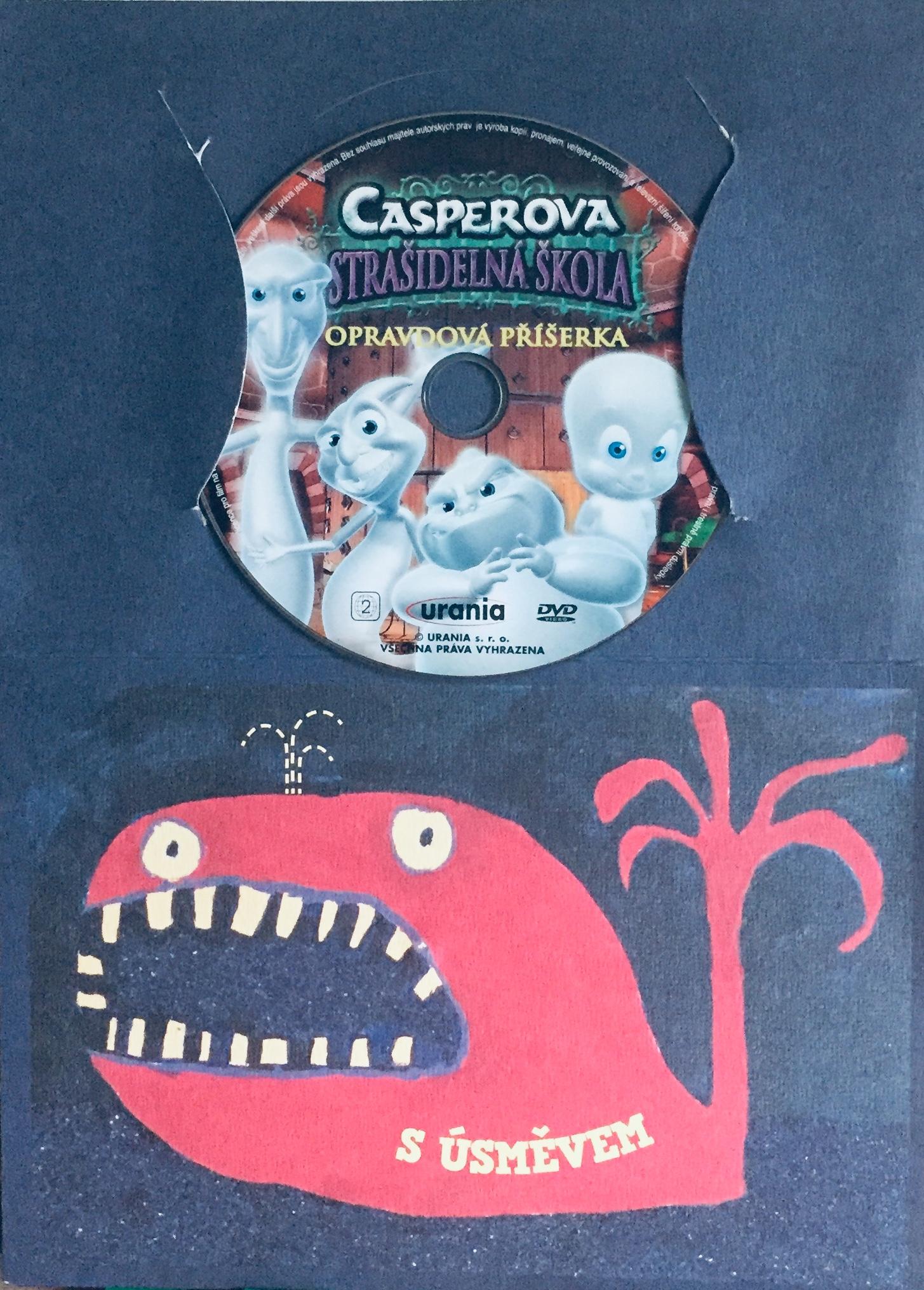 Casperova strašidelná škola - Opravdová příšerka - DVD /dárkový obal/