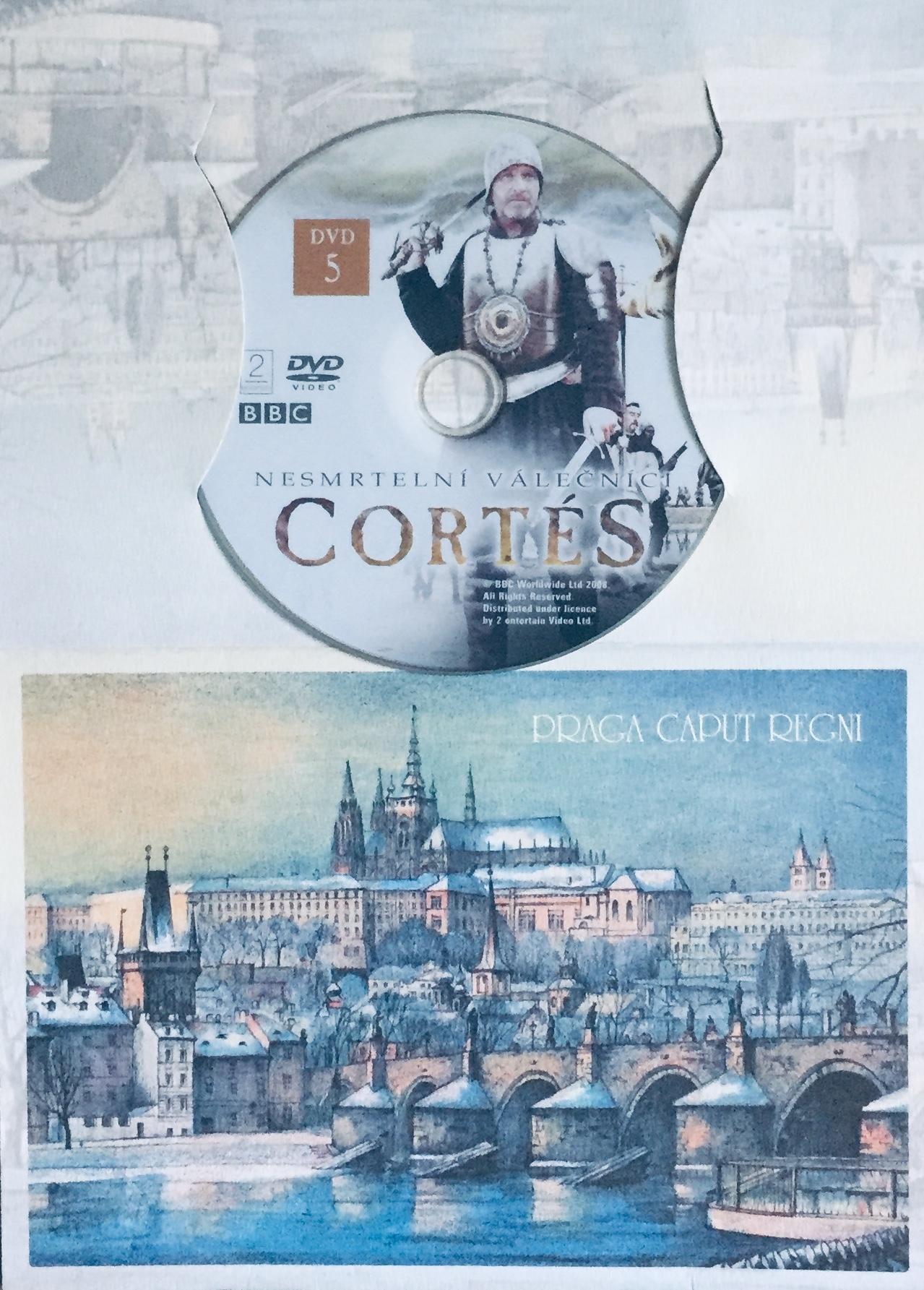 Cortés - Nesmrtelní válečníci - DVD 5 - DVD /dárkový obal/