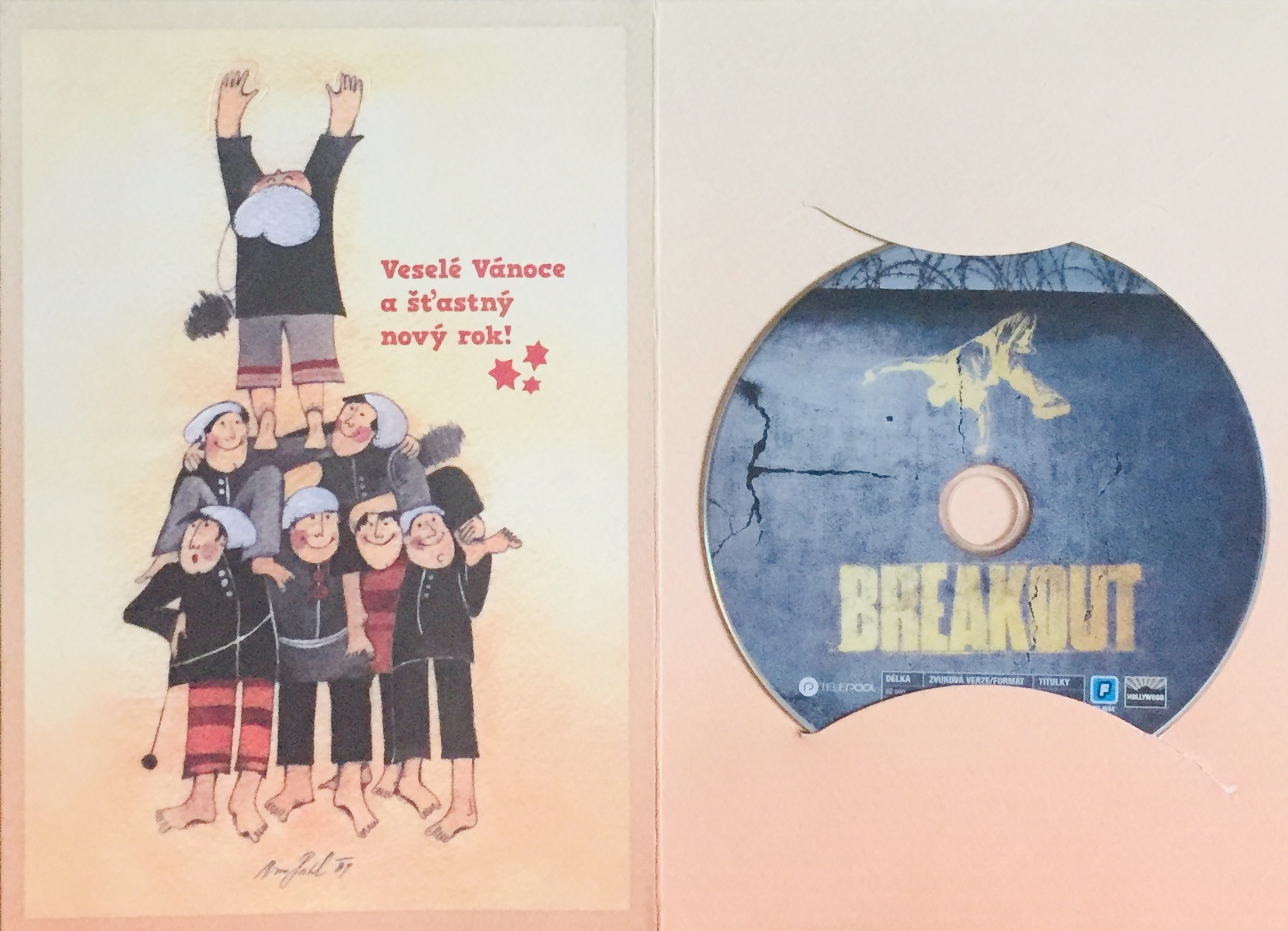 Breakout - DVD /dárkový obal/
