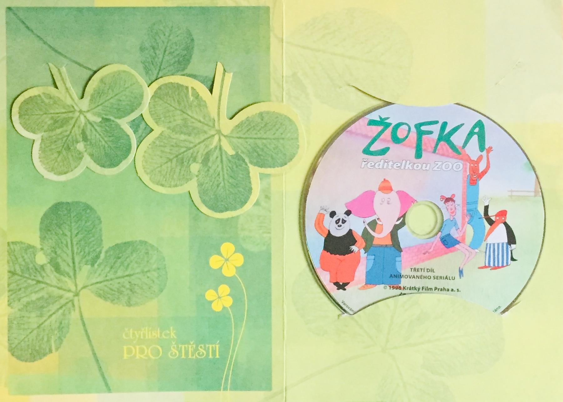 Žofka ředitelkou ZOO - DVD /dárkový obal/
