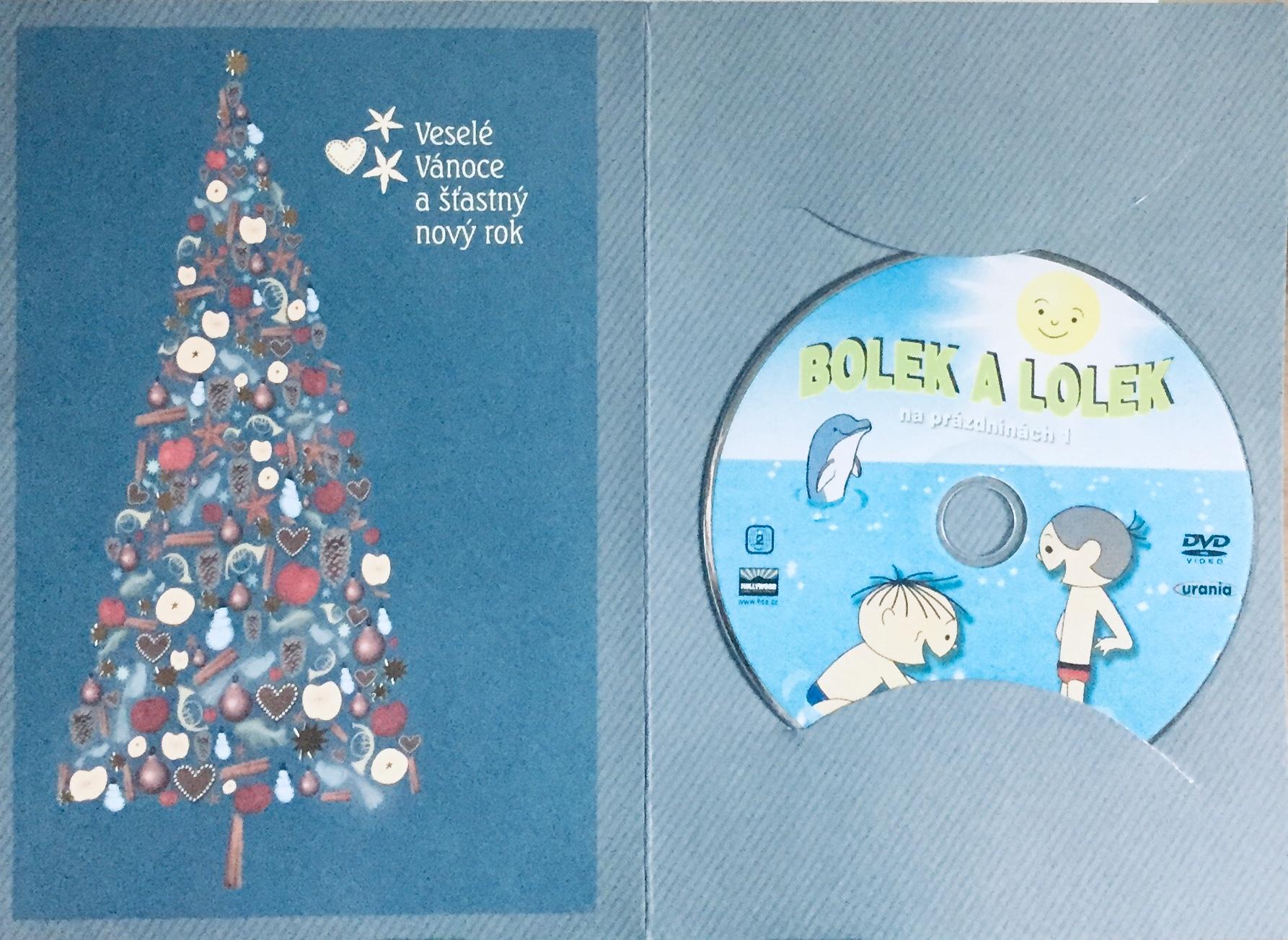 Bolek a Lolek na prázdninách 1 - DVD /dárkový obal/