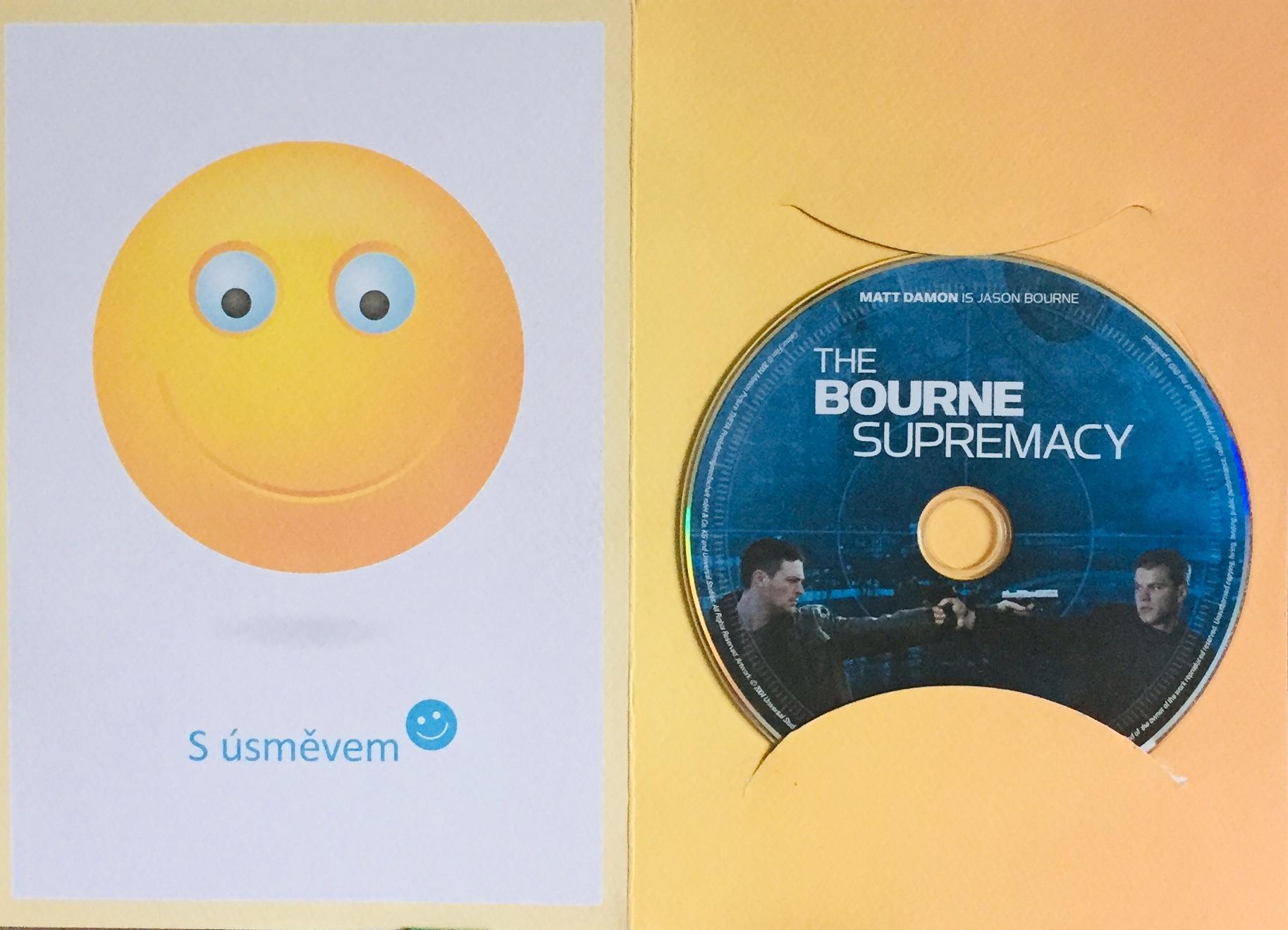 The Bourne Supremacy / Bourneův mýtus - DVD /dárkový obal/